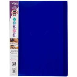 Cheap Stationery Supply of Snopake Electra (A4) 10-Pocket Display Book (Assorted Colours) Pack of 10 Display Books 12199 Office Statationery