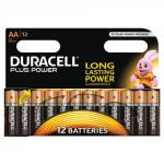 Duracell Plus Power Battery Alkaline AA Ref AADURIND12 [Pack 12]
