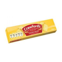 Cheap Stationery Supply of Crawfords Custard Cream Biscuits 150g UTB001 Pack of 12 Office Statationery