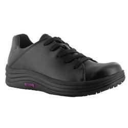 Cheap Stationery Supply of Magnum Dahlia (Size 4) Ladies Lace-Up SRC Slip Resistant Nurses Shoe (Black) M800900/021 DAH 4 Office Statationery