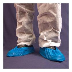 Cheap Stationery Supply of Disposable Overshoe Waterproof Elasticated 14In Blue Pack of 2000 Office Statationery