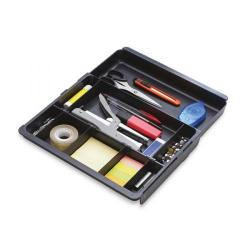 Cheap Stationery Supply of Exacompta Sliding Part Drawer Insert Black 316014D Office Statationery