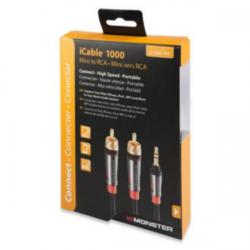 Cheap Stationery Supply of Monster iCable 1000 (2.13m) Mini to RCA Cable for iPad and iPod 133225-00 Office Statationery