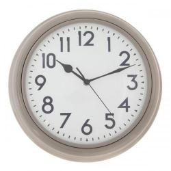 Cheap Stationery Supply of ECC 12.5 Inch Taupe Station Clock ECC007 Office Statationery