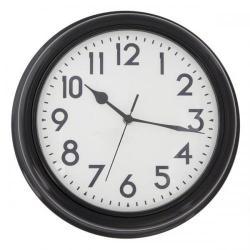 Cheap Stationery Supply of ECC 12.5 Inch Black Station Clock ECC004 Office Statationery