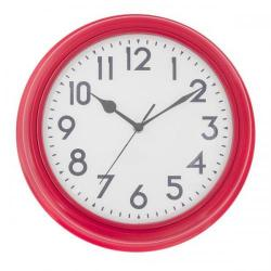 Cheap Stationery Supply of ECC 12.5 Inch Red Station Clock ECC005 Office Statationery