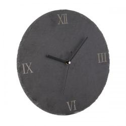 Cheap Stationery Supply of Natural Life Slate Clock NLST015 Office Statationery