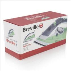 Cheap Stationery Supply of Breville 2400W Power Steam Iron VIN177 Office Statationery