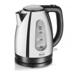 Cheap Stationery Supply of Swan 1.7 Litre Polished Jug Kettle 3KW SK25020NAIS Office Statationery