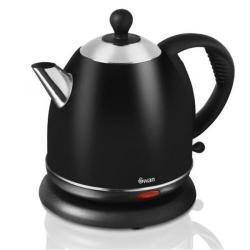 Cheap Stationery Supply of Swan 0.8 Litre Black Kettle SK24020BLKN Office Statationery
