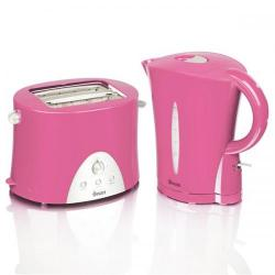 Cheap Stationery Supply of Swan Pink Kettle and Toaster Twin Pack STP100PIN Office Statationery