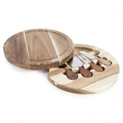 Cheap Stationery Supply of Natural Life 4 Piece Cheese Set with Cutting Board NL84001 Office Statationery