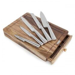 Cheap Stationery Supply of Natural Life 5 Piece Knife Set with Drawer NL84003 Office Statationery