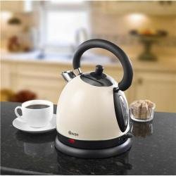 Cheap Stationery Supply of Swan 1.7 Litre Cream Traditional Kettle SK23010CREN Office Statationery