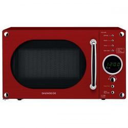 Cheap Stationery Supply of Daewoo KOR6N9RR (20 Litre) 800W Touch Control Retro Style Microwave Oven (Glossy Red) KOR6N9RR Office Statationery