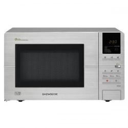 Cheap Stationery Supply of Daewoo KOR6L5R (20 Litre) 800W Touch Microwave with ECO Button (Zero Standby) Stainless Steel KOR6L5R Office Statationery