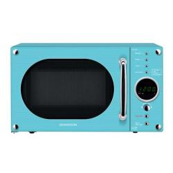 Cheap Stationery Supply of Daewoo KOR6N9RT (20 Litre) 800W Touch Control Retro Style Microwave Oven (Turquoise) KOR6N9RT Office Statationery
