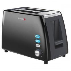Cheap Stationery Supply of Breville Black Stainless Steel 2 Slice Toaster VTT343 Office Statationery