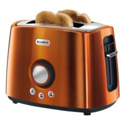 Cheap Stationery Supply of Breville Rio Sunset Stainless Steel 2 Slice Toaster VTT386 Office Statationery