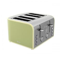 Cheap Stationery Supply of Swan 4 Slice Green Toaster ST17010GN Office Statationery