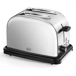 Cheap Stationery Supply of Swan 2 Slice Polished Stainless Steel Toaster ST14010NAIS Office Statationery