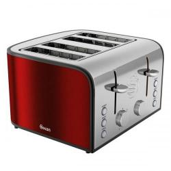 Cheap Stationery Supply of Swan 4 Slice Rouge Toaster ST17010ROUN Office Statationery