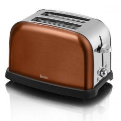 Cheap Stationery Supply of Swan Metallic Copper 2 Slice Toaster ST16020COPN Office Statationery