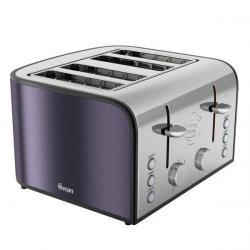 Cheap Stationery Supply of Swan 4 Slice Plum Toaster ST17010PLUN Office Statationery
