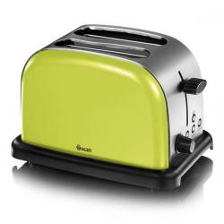 Cheap Stationery Supply of Swan 2 Slice Lime Toaster ST14010LIMN Office Statationery