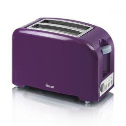 Cheap Stationery Supply of Swan Purple 2 Slice Toaster ST14030PURN Office Statationery