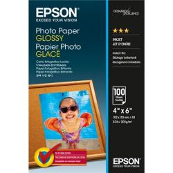 Cheap Stationery Supply of Epson Photo Paper Glossy 200gsm 100x150mm C13S042548 100 Sheets *3to5 Day Leadtime* Office Statationery