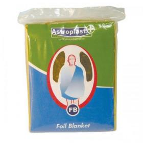 Wallace Cameron Astroplast First-Aid Emergency Foil Blanket Ref 4803008 Pack of 6