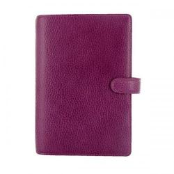 Cheap Stationery Supply of Filofax Finsbury Leather Personal Organiser Raspberry 025305 Office Statationery