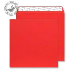 Cheap Stationery Supply of Creative Colour Pillar Box Red Peel and Seal Wallet 220x220mm 506 Pack of 250 *10 Day Leadtime* Office Statationery