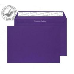 Cheap Stationery Supply of Creative Colour Blackcurrant Peel and Seal Wallet C4 229x324mm 447 Pack of 250 *10 Day Leadtime* Office Statationery