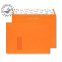 Cheap Stationery Supply of Creative Colour Pumpkin Orange P&S Wallet Window C4 229x324mm 405W Pack of 250 *10 Day Leadtime* Office Statationery