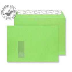 Cheap Stationery Supply of Creative Colour Lime Green P&S Wallet Window C4 229x324mm 407W Pack of 250 *10 Day Leadtime* Office Statationery