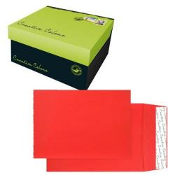 Cheap Stationery Supply of Creative Colour Pillar Box Red P&S Gusset C4 324x229x25mm 9060 Pack of 125 *10 Day Leadtime* Office Statationery