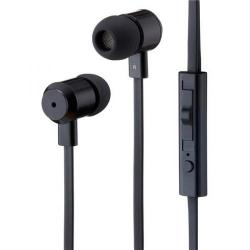 Cheap Stationery Supply of Goodmans In Ear Earphones with Microphone (Black) GEP03BLK Office Statationery