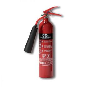 Firechief 2.0KG CO2 Fire Extinguisher for Class A B and E Fires Ref WG10128