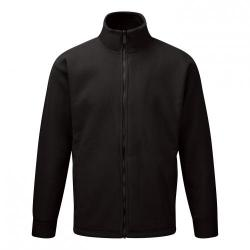 Cheap Stationery Supply of Classic Fleece Jacket Elasticated Cuffs Full Zip Front 3XL Black FLJBL3XL *1-3 Days Lead Time* Office Statationery