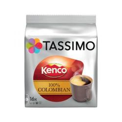Cheap Stationery Supply of Tassimo 100% Pure Columbian Coffee Pods 16 servings per pack 4031515 Pack of 5 x 16 Office Statationery