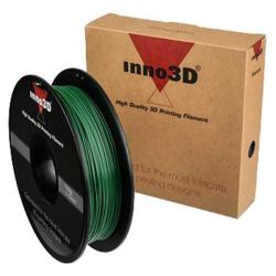 Cheap Stationery Supply of Inno3D PLA Filament for 3D Printer 1.75x200mm 0.5kg Dark Green 3DPFP175SG05 Office Statationery