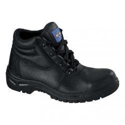 Cheap Stationery Supply of Rockfall ProMan Chukka Boot Leather Steel Toecap Black Size 13 PM100 13 Office Statationery