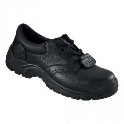 Cheap Stationery Supply of Rockfall ProMan Chukka Shoe Leather Steel Toecap Black Size 7 PM102 7 Office Statationery