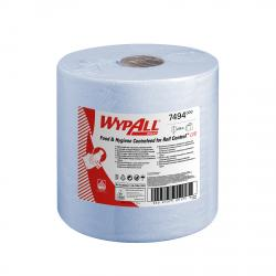 Cheap Stationery Supply of WypAll L10 Centrefeed Hand Towel Roll Single Ply 380x185mm 630 Sheets per Roll Blue 7494 Pack of 6 Office Statationery