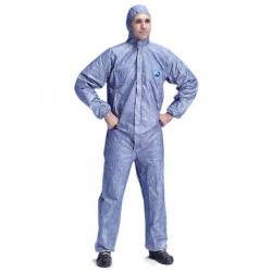 Cheap Stationery Supply of Tyvek Protech Hooded Boilersuit Disposable 2XL Blue TBSHBXXL Pack of 25 *Up to 3 Day Leadtime* Office Statationery