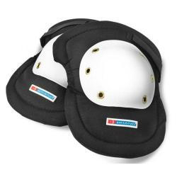 Cheap Stationery Supply of B-Brand Riveted Cap Knee Pads White/Black BBKP02 *Up to 3 Day Leadtime* Office Statationery