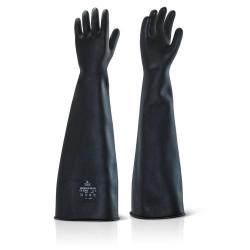 Cheap Stationery Supply of Ansell Industrial Latex Heavy Weight 24inch Gauntlet Black 09 ILHW2409 *Up to 3 Day Leadtime* Office Statationery