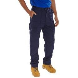Cheap Stationery Supply of Super Click Workwear Drivers Trousers Navy Blue 52 PCTHWN52 *Up to 3 Day Leadtime* Office Statationery